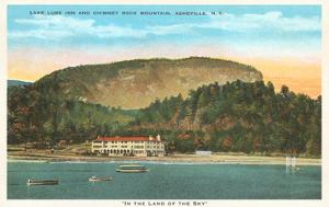 Lake Lure Inn, Chimney Rock Mountain, Asheville, North Carolina