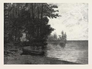 Lake Nipissing, Canada, Nineteenth Century