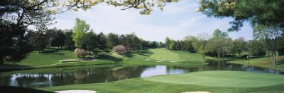 Lake on a Golf Course, Congressional Country Club, Bethesda, Maryland, USA