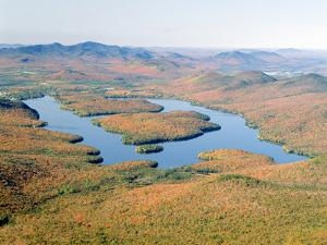 Lake Placid in Autumn, Adirondack, New York