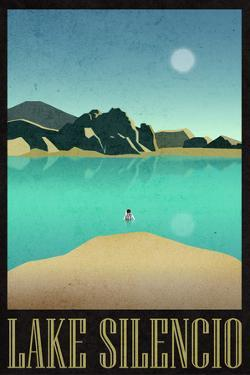 Lake Silencio Retro Travel