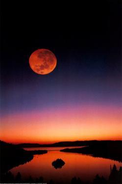 Lake Tahoe at Night