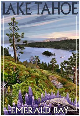 Lake Tahoe, California - Emerald Bay