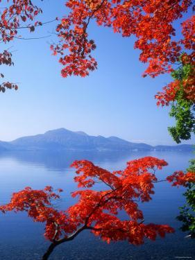 Lake Toyah and Mt. Usu