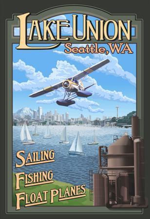 Lake Union Float Plane, Seattle, Washington