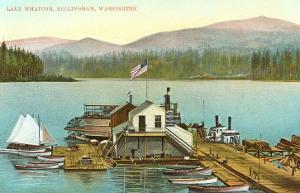 Lake Whatcom, Bellingham, Washington