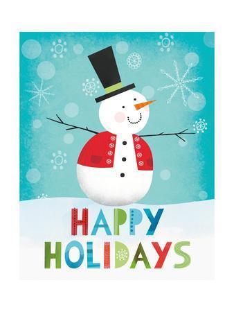 Merry Snowman I