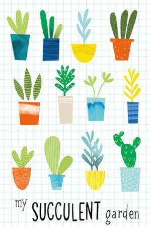 My Succulent Garden by Lamai McCartan