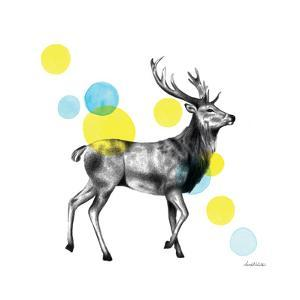 Sketchbook Lodge Stag by Lamai McCartan