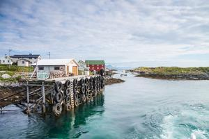Aproaching A Small Harbor in Northern Norway by Lamarinx