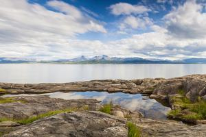 Calm Fjord in Northern Norway by Lamarinx