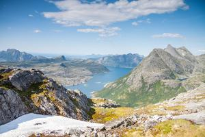 Fjord and Mountains in Northern Norway by Lamarinx