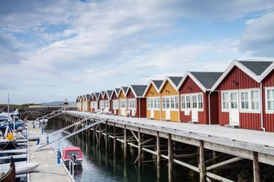 Houses for Boat Servicing in Northern Norway by Lamarinx