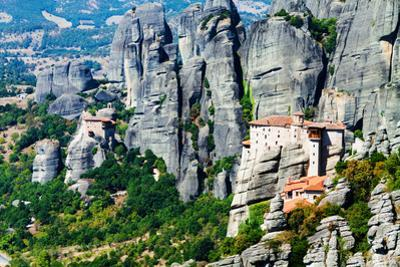Meteora Monasteries, Greece, Horizontal Shot by Lamarinx