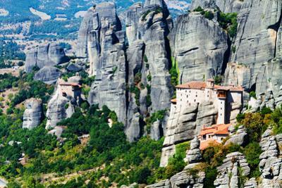 Meteora Monasteries, Greece, Horizontal Shot by Lamarinx
