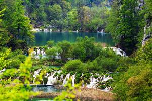 Plitvice Lakes National Park, Croatia by Lamarinx