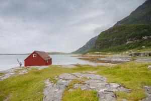 Seaside Building in Northern Norway by Lamarinx