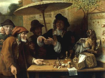 Peasants Listening to a Quack Doctor, 1668