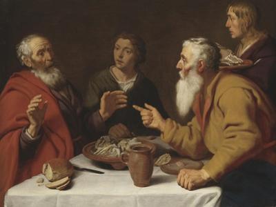The Disobedient Prophet, 1620-9 by Lambert Jacobsz.