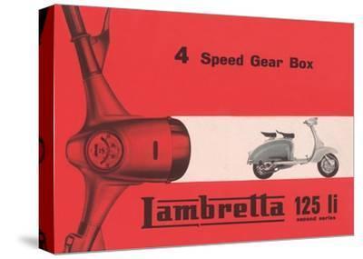 Lambretta 4 Speed Gear Box