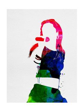 Aaliyah Watercolor by Lana Feldman
