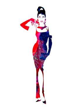 Audrey Watercolor II by Lana Feldman