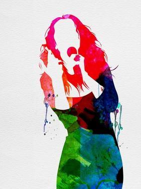 Celine Watercolor by Lana Feldman