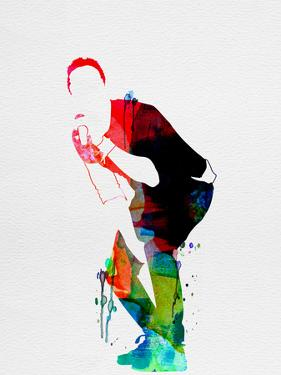 Coldplay Watercolor by Lana Feldman