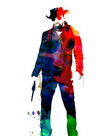 Django Unchained Watercolor