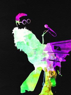 Elton Watercolor II by Lana Feldman