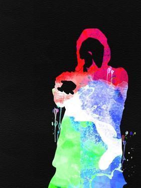 Eminem Watercolor by Lana Feldman