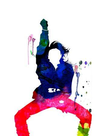 Janet Jackson Watercolor