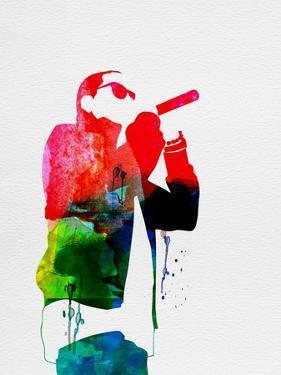 Jay-Z Watercolor by Lana Feldman