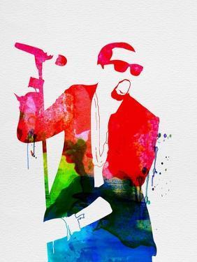 Kanye Watercolor by Lana Feldman