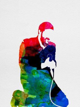 Marvin Gaye Watercolor by Lana Feldman