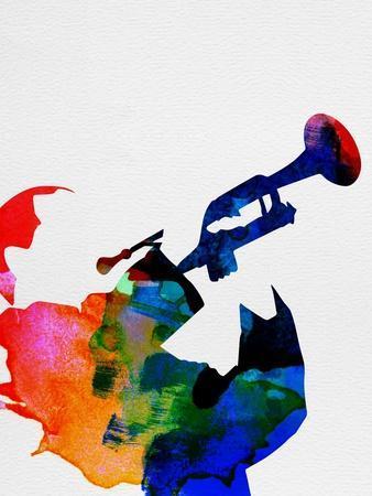 Miles Davis Watercolor