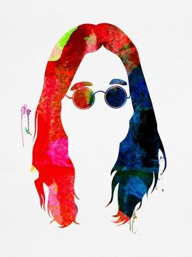 Ozzy Watercolor by Lana Feldman
