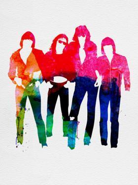 Ramones Watercolor by Lana Feldman