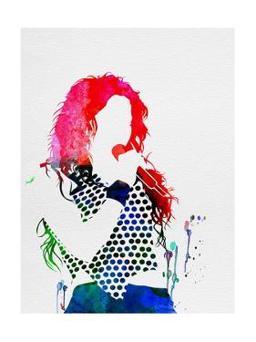 Shakira Watercolor by Lana Feldman