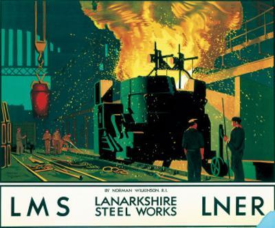 Lanarkshire Steel Works, LMS/LNER, c.1935