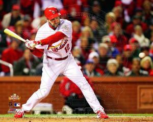 Lance Berkman 2 RBI Single Game 1 of the 2011 World Series Action (#3)