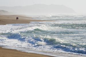 A Walk on the Beach by Lance Kuehne