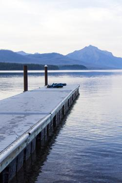 Lake McDonald Pier by Lance Kuehne
