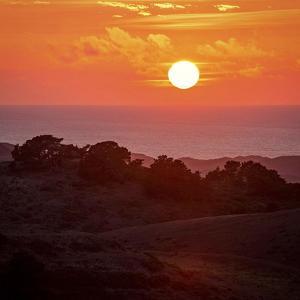 Mt Vision Sunset by Lance Kuehne