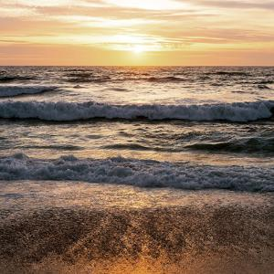 North Beach Sunset 3 by Lance Kuehne