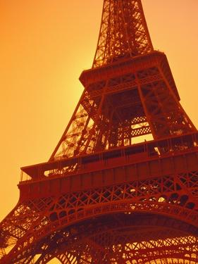 Eiffel Tower Against Sky by Lance Nelson