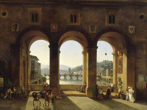 Ponte Vecchio, c.1811 by Lancelot Théodore Turpin De Crissé