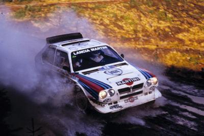Lancia Delta S4 RAC Rally 1986