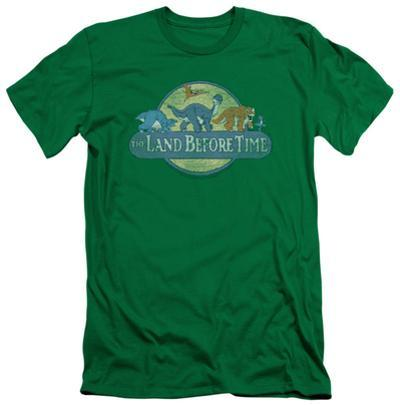 Land Before Time - Retro Logo (slim fit)