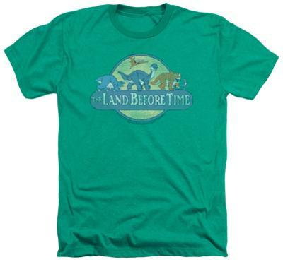 Land Before Time - Retro Logo